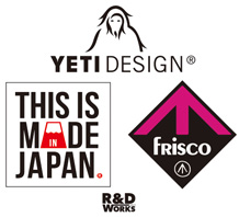 THIS IS MADE IN JAPAN / YETI DISIGN
